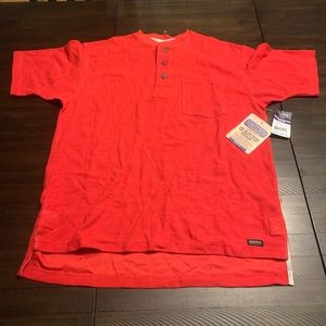 Other - Smiths Workwear Mini Thermal Henley Short Sleeve